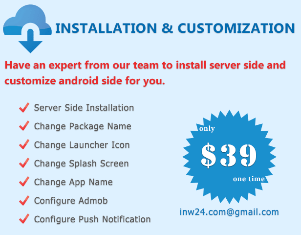 INSTALLATION & CUSTOMIZATION